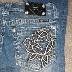 Miss Me Rose Denim Boot Cut Jeans
